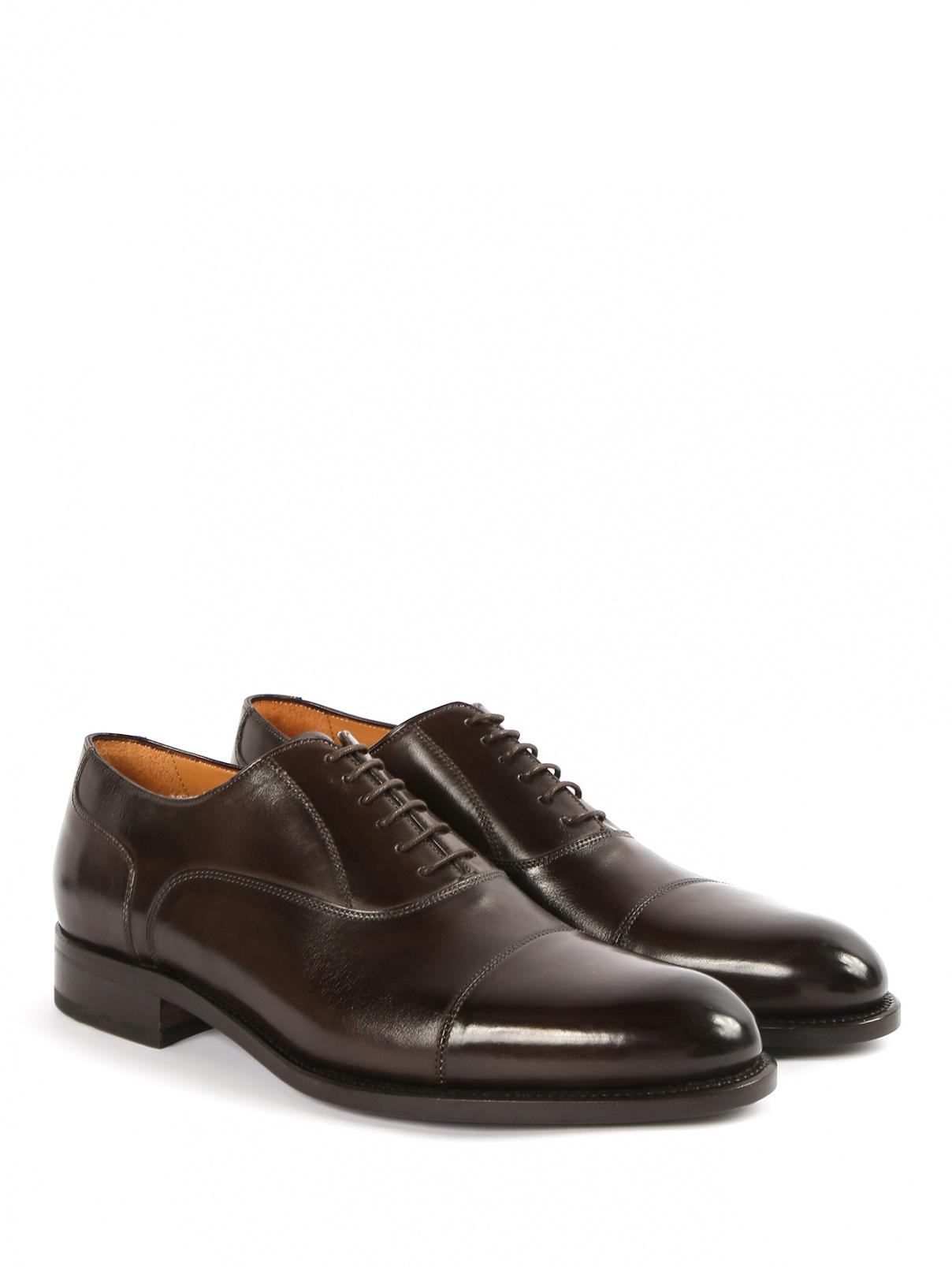 Туфли из кожи Isaia  –  Общий вид