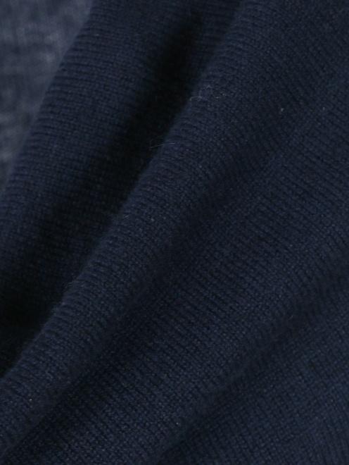 Платье-мини из кашемира - Деталь