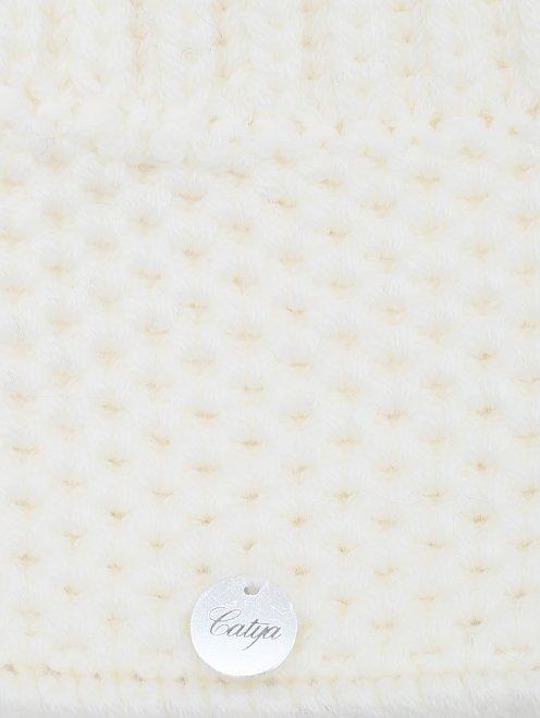 Шапка с меховым помпоном Catya - Деталь