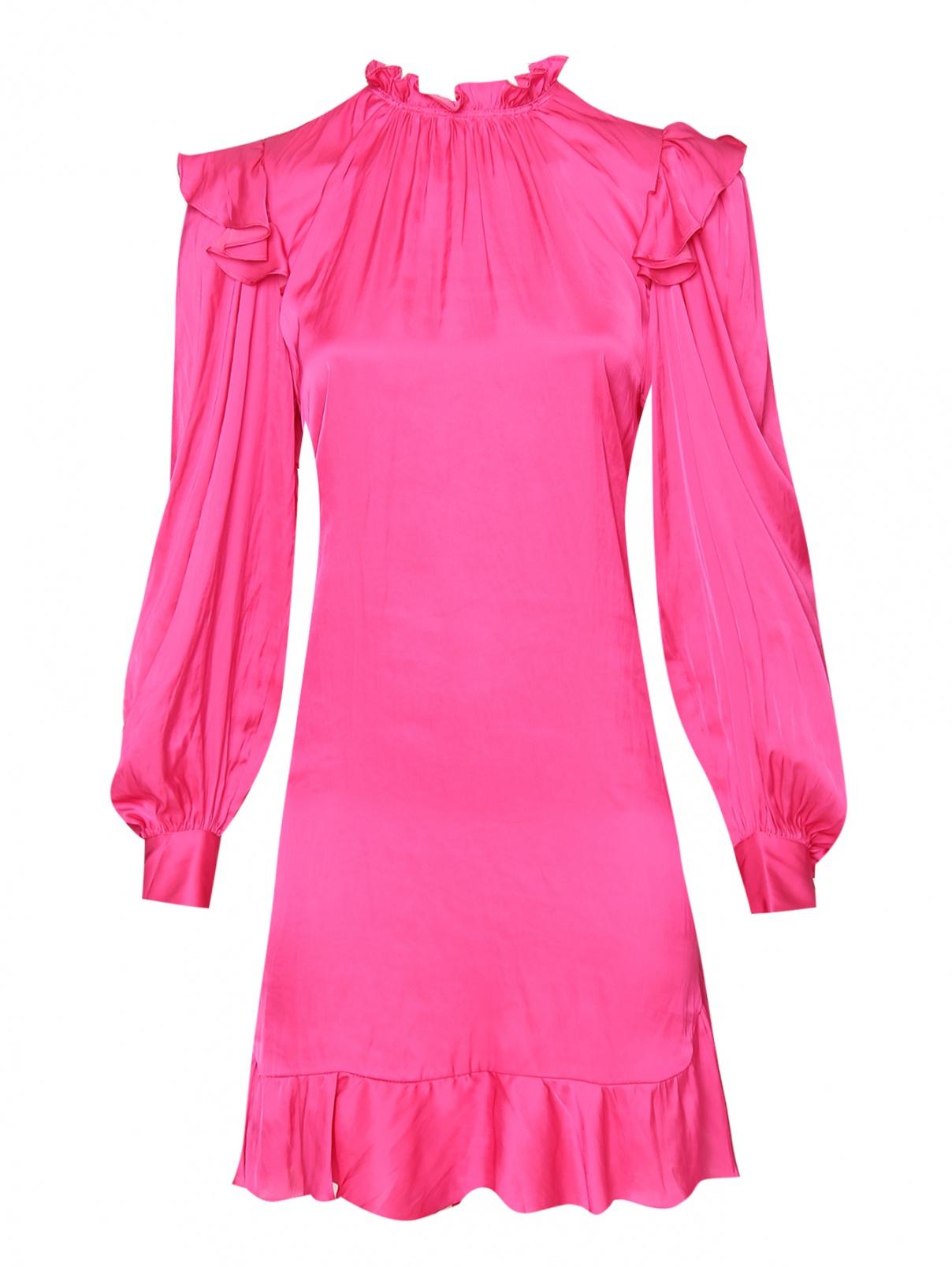 Платье-мини с воланами и карманами Zadig&Voltaire  –  Общий вид