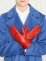 Перчатки из гладкой кожи Portolano  –  МодельОбщийВид