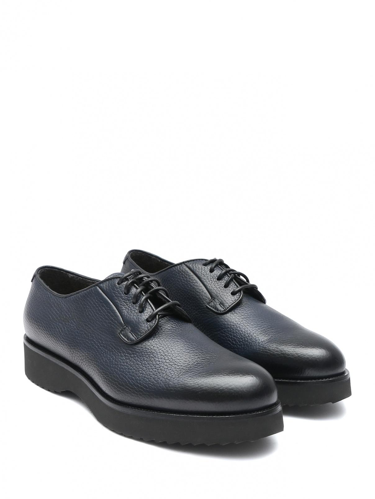 Ботинки из фактурной кожи Doucal's  –  Общий вид