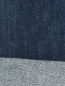 Джинсы из темного денима с потертостями Moorer  –  Деталь2
