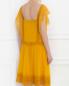 Платье-мини из льна с отделкой из кружева Alberta Ferretti  –  Модель Верх-Низ1