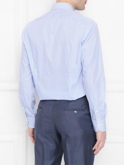 Рубашка из хлопка с узором Carrel - МодельВерхНиз1