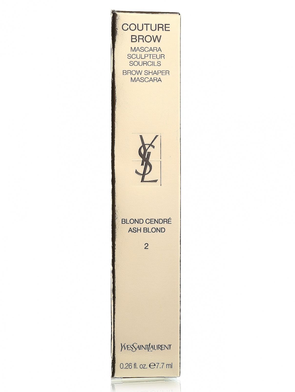 Тушь для бровей - №02, Couture Brow YSL  –  Модель Общий вид