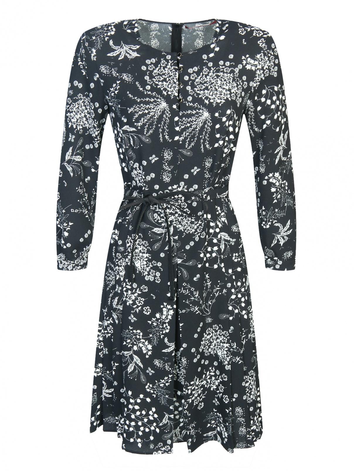 1648df222fd7 Max Mara Платье-мини с узором под пояс