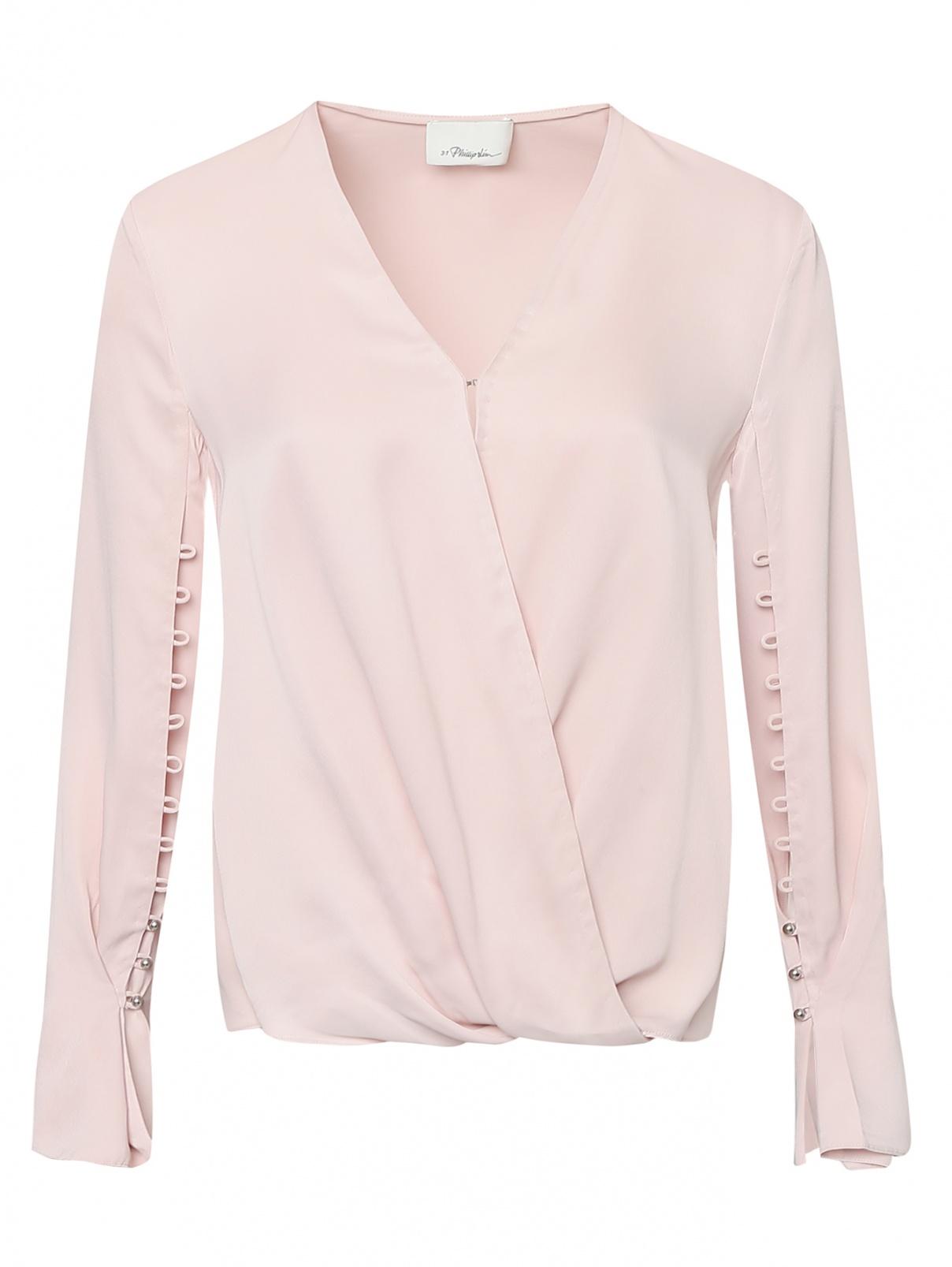 Блуза с разрезами на рукавах 3.1 Phillip Lim  –  Общий вид