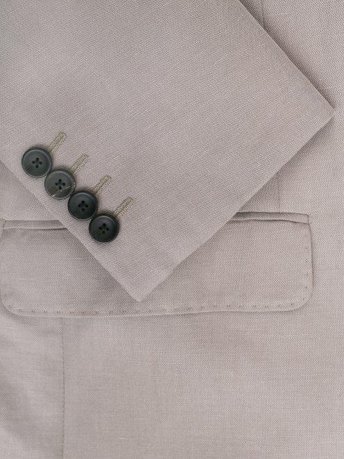 Пиджак из льна - Деталь