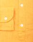 Льняная однотонная рубашка Eton  –  Деталь