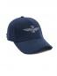 Бейсболка однотонная с вышивкой Aeronautica Militare  –  Обтравка1