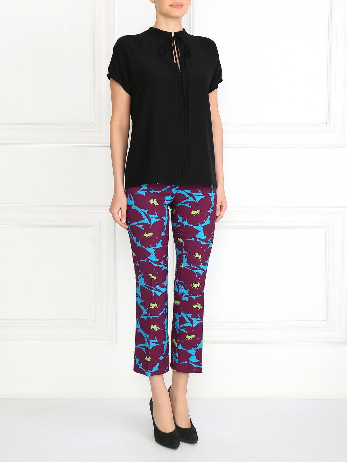 Укороченные брюки с узором Etro  –  Модель Общий вид