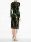 Платье-футляр декорированное пайетками Ermanno Scervino  –  МодельВерхНиз1