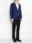 Пиджак однобортный из шерсти LARDINI  –  МодельОбщийВид