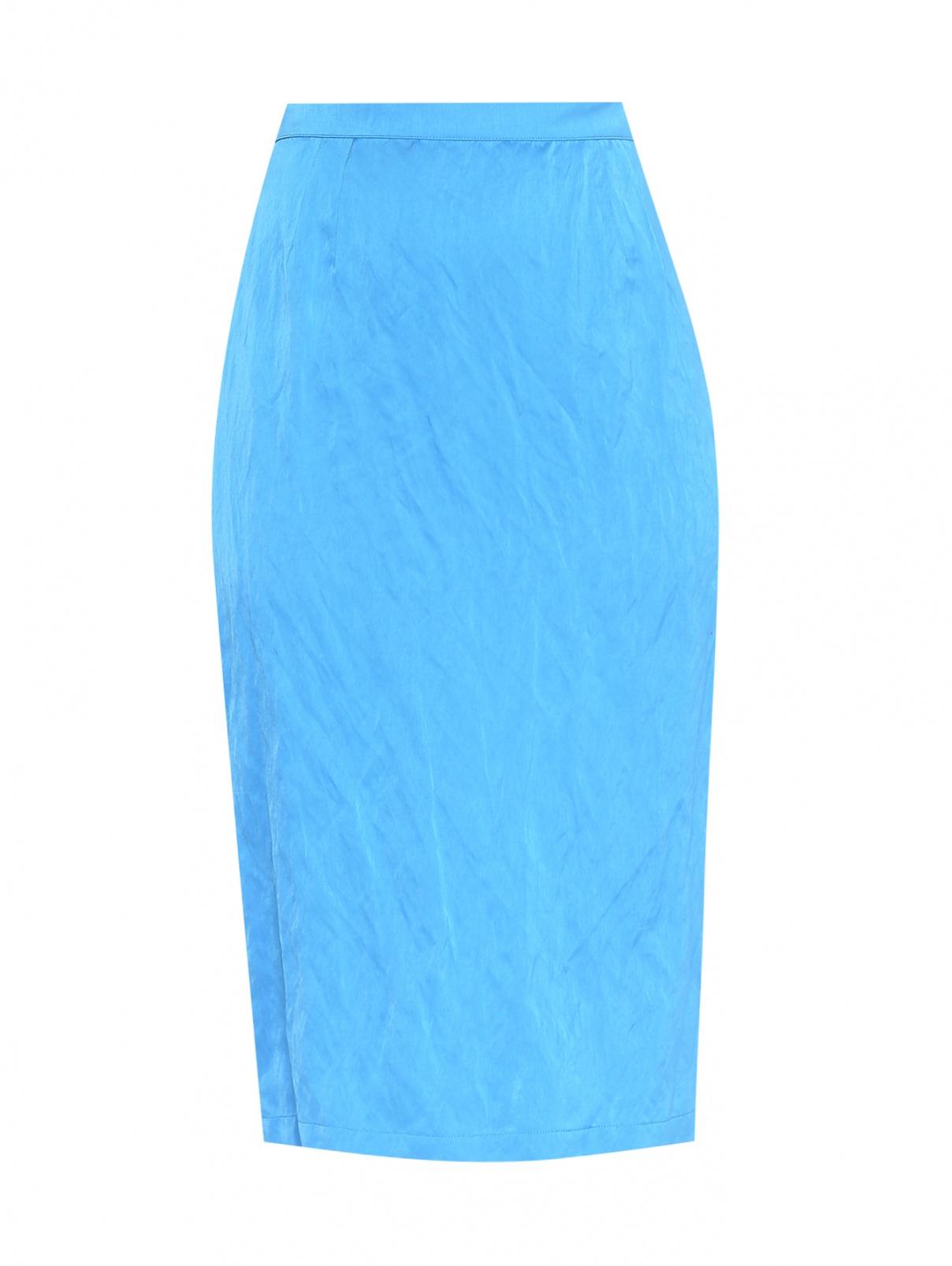 Юбка-миди из вискозы и хлопка Marina Rinaldi  –  Общий вид