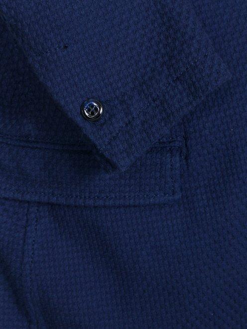 Пиджак из фактурного хлопка - Деталь