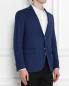 Пиджак однобортный из шерсти LARDINI  –  МодельВерхНиз