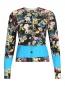 Кардиган из шерсти с цветочным узором Paul Smith  –  Общий вид