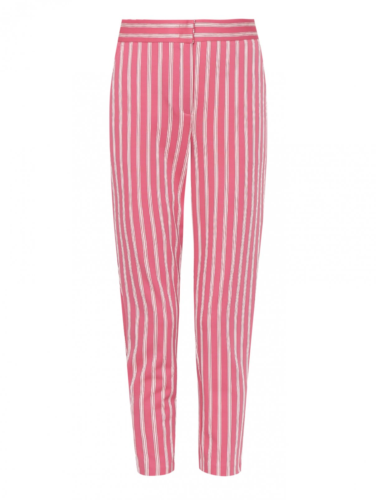 Укороченные брюки с узором полоска Max&Co  –  Общий вид