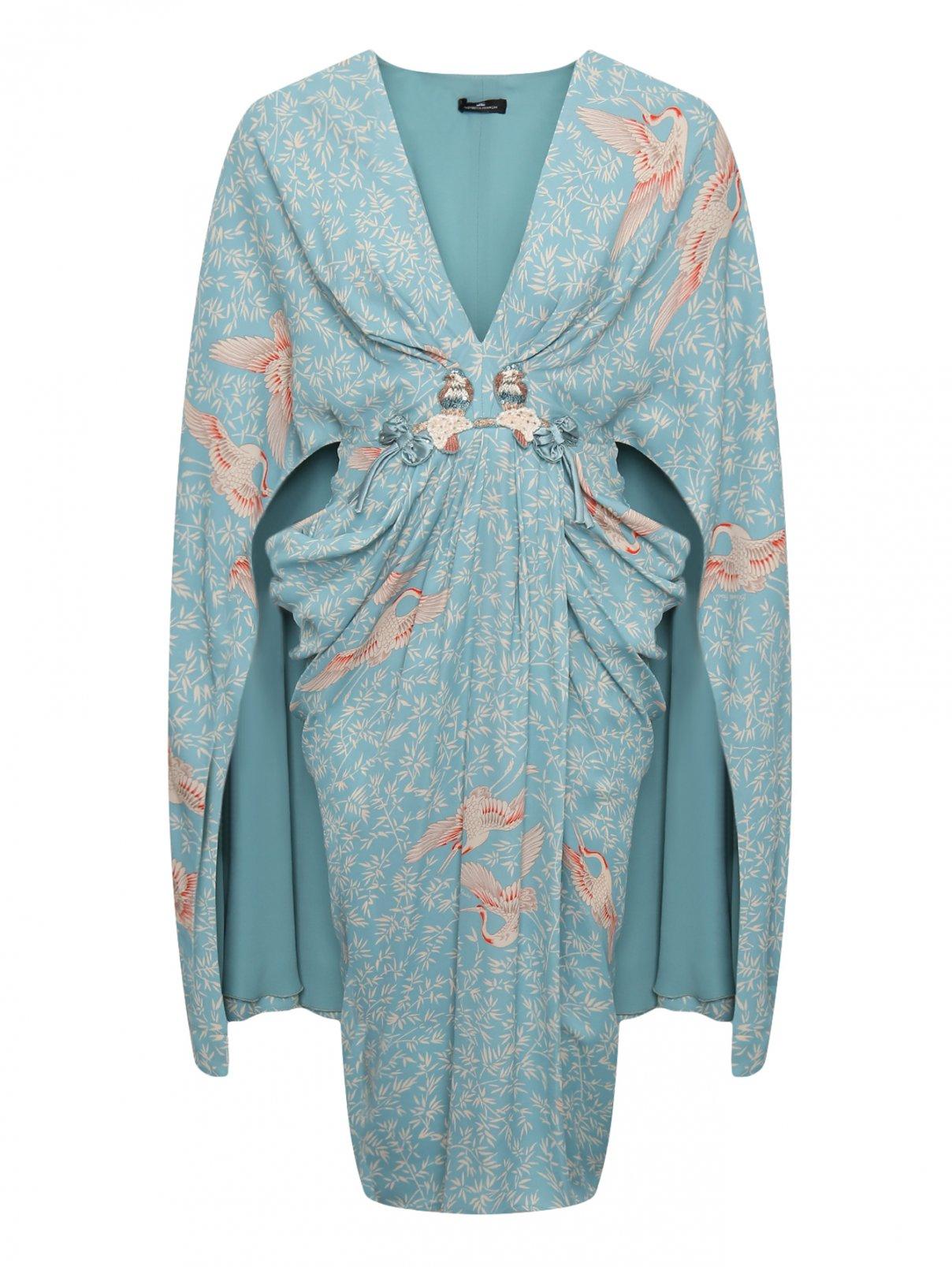 Платье с узором Elisabetta Franchi  –  Общий вид