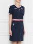 Платье из хлопкового трикотажа на молнии Bosco Sport  –  МодельВерхНиз