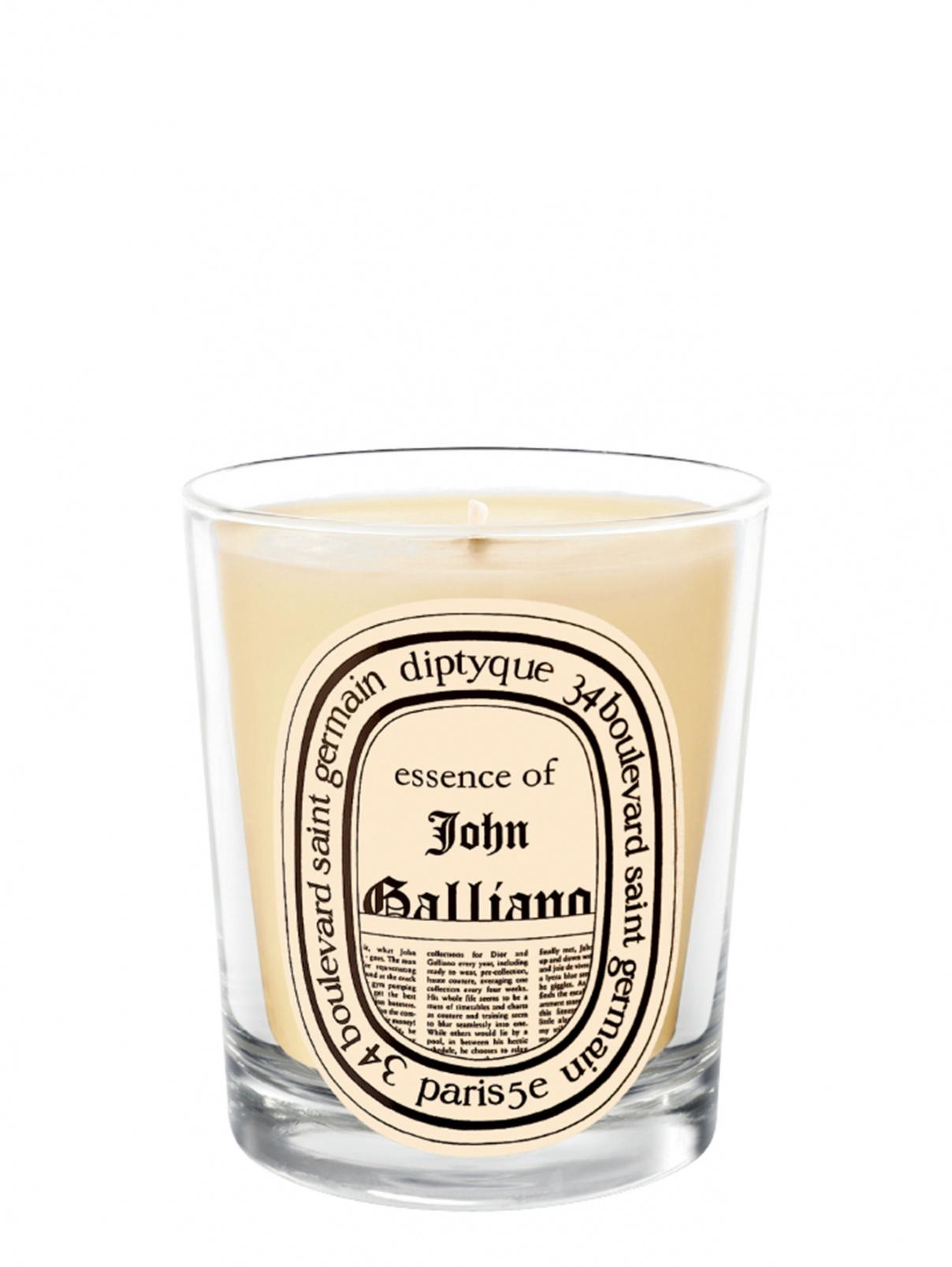 JOHN GALLIANO  Свеча большая, 190 г Diptyque  –  Общий вид