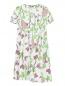 Платье из хлопка с цветочным узором Isola Marras  –  Общий вид