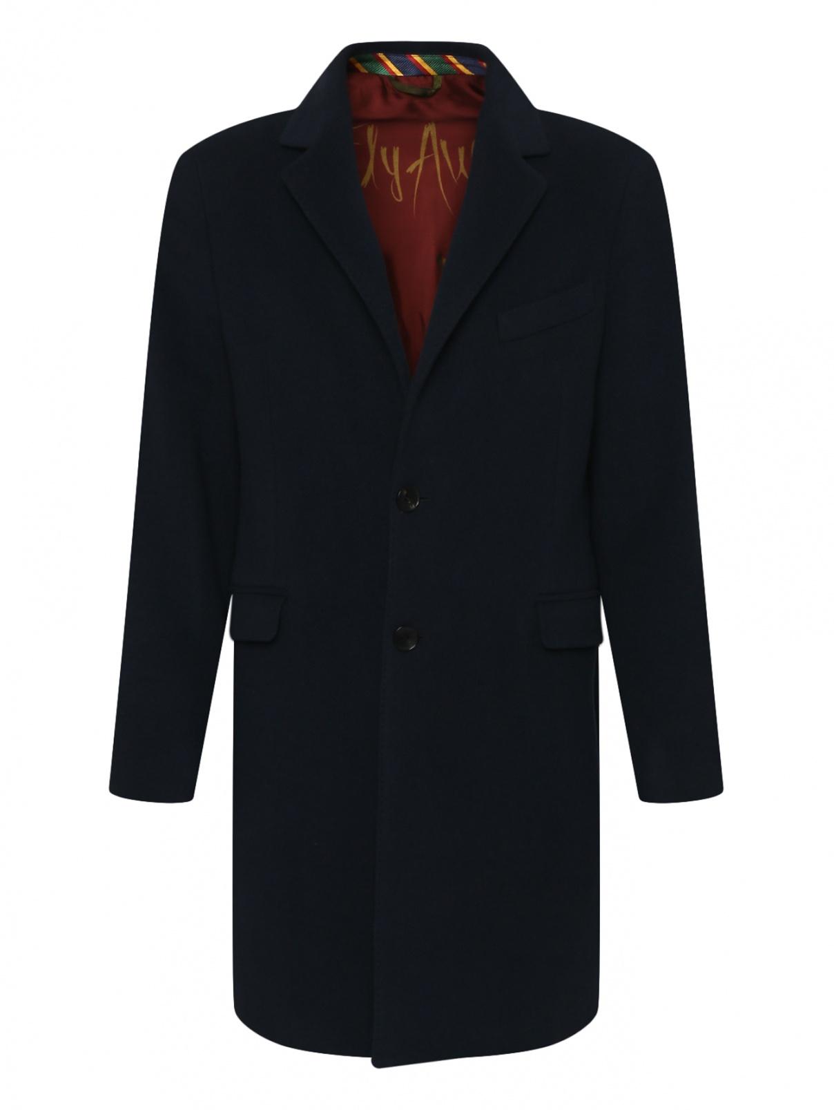 Классическое однобортное пальто из шерсти и кашемира Etro  –  Общий вид