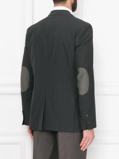 Пиджак из хлопка и льна - МодельВерхНиз1