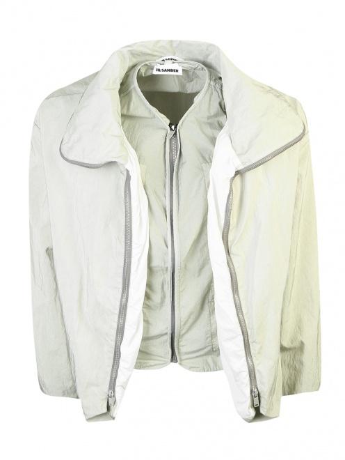 Куртка на молнии с подкладом Jil Sander - Общий вид