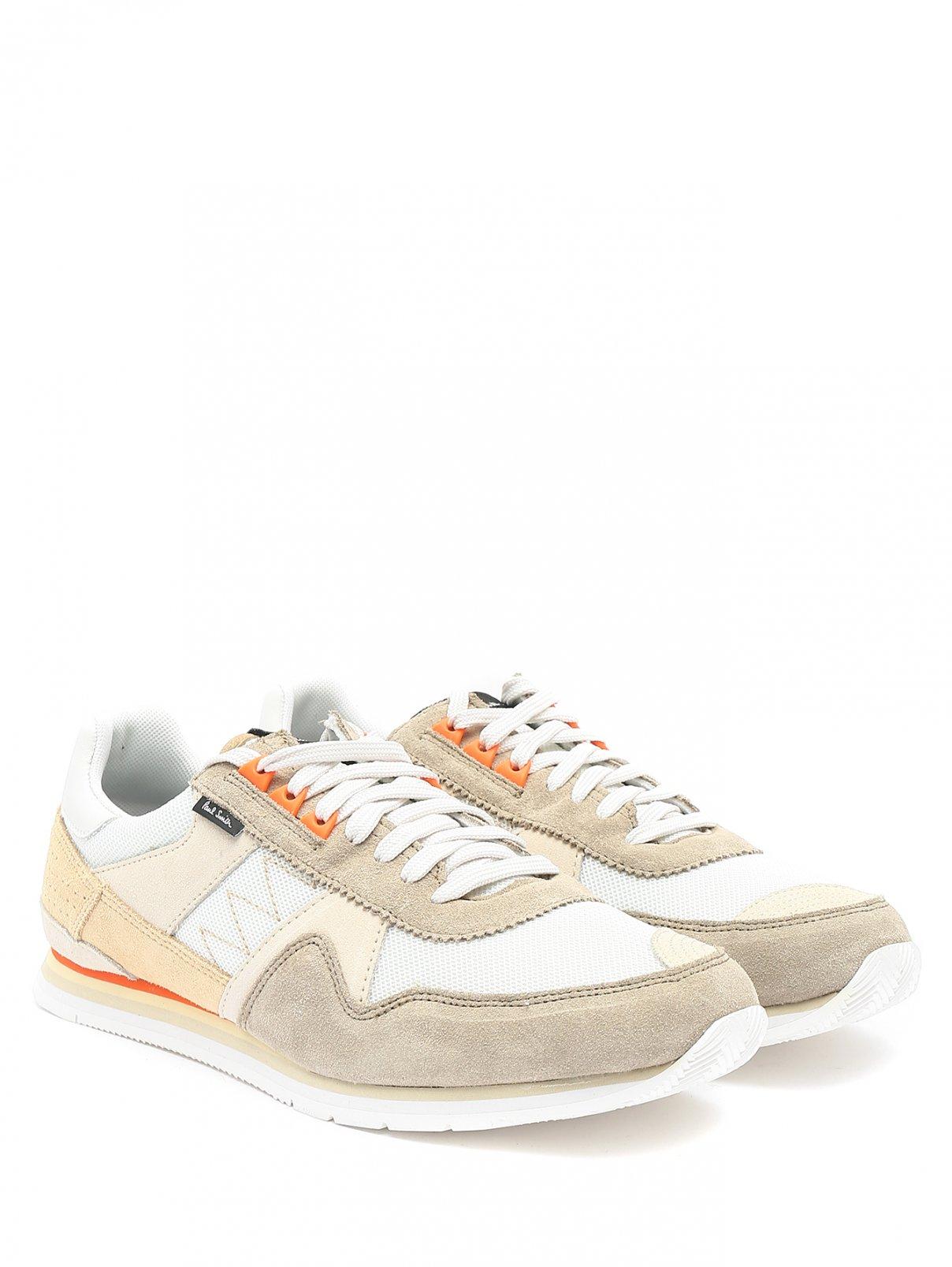 Кроссовки из замши с контрастными вставками Paul Smith  –  Общий вид