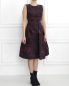 Платье-миди без рукавов Pianoforte  –  Модель Верх-Низ