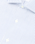 "Рубашка из хлопка с узором ""полоска"" Brooks Brothers  –  Деталь"