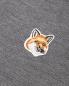 Водолазка из шерсти с контрастной вставкой Maison Kitsune  –  Деталь