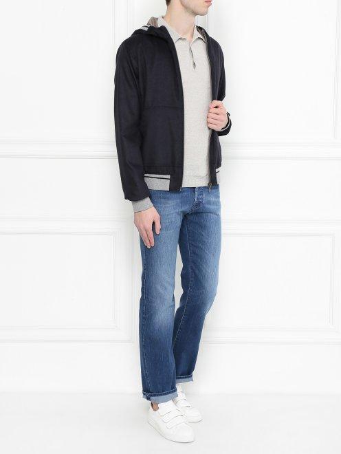 Куртка из шелка и кашемира - Общий вид