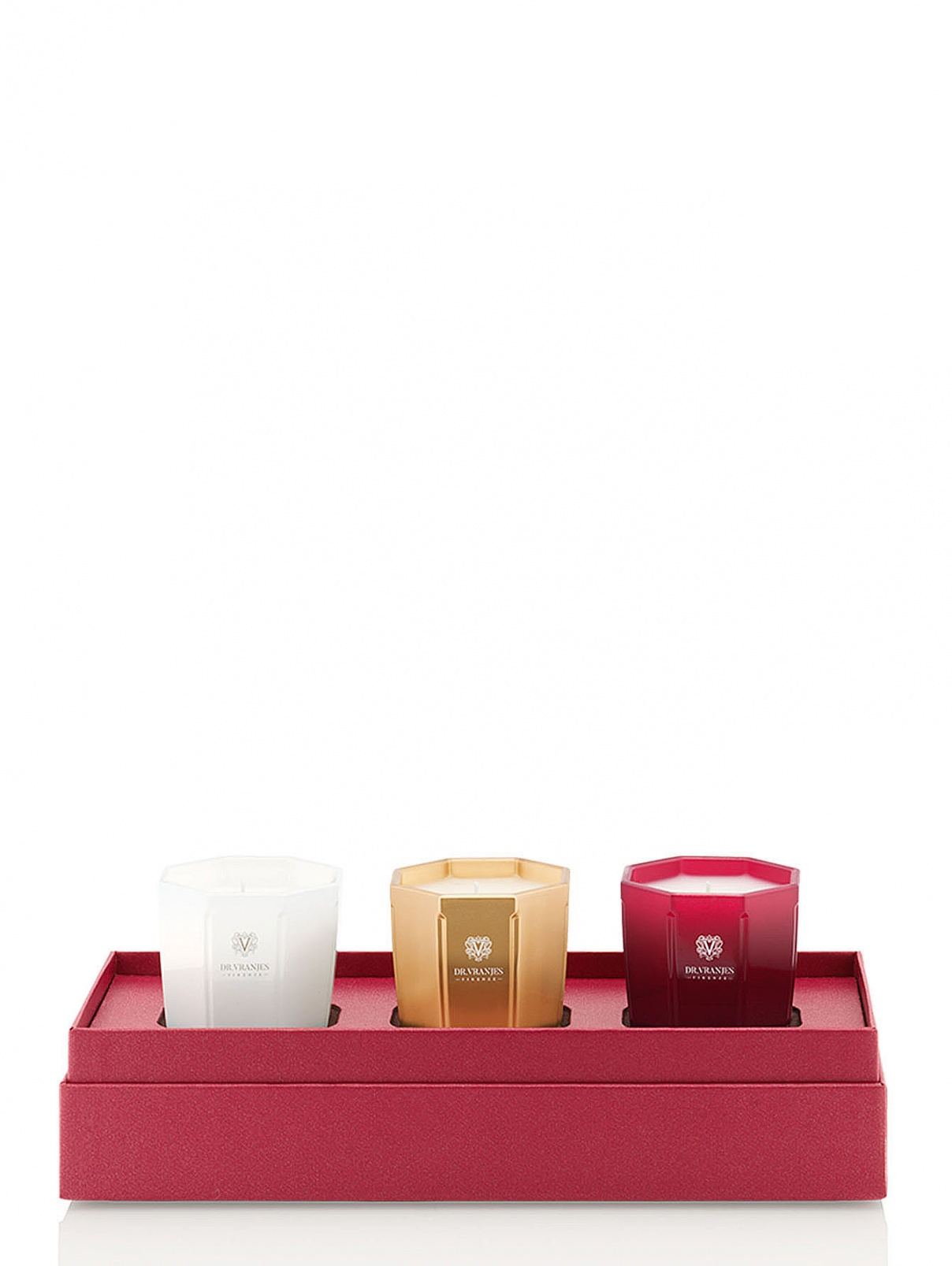 Набор свечей 3X80 г Home Fragrance Dr. Vranjes  –  Общий вид