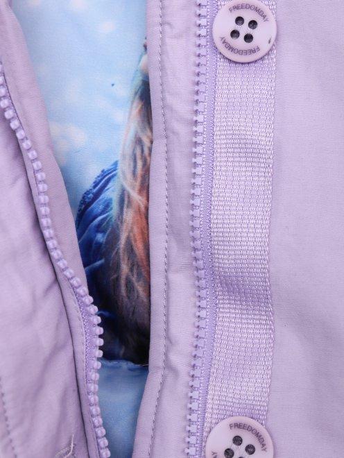 Куртка на молнии с капюшоном  - Деталь