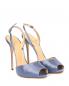 Босоножки из шелка на высоком каблуке La Perla  –  Общий вид