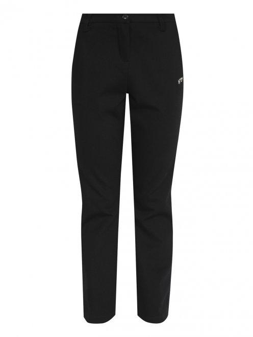 Трикотажные брюки с карманами - Общий вид