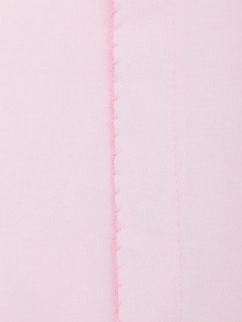Ползунки из хлопка с вышивкой - Деталь