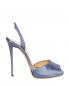 Босоножки из шелка на высоком каблуке La Perla  –  Обтравка1