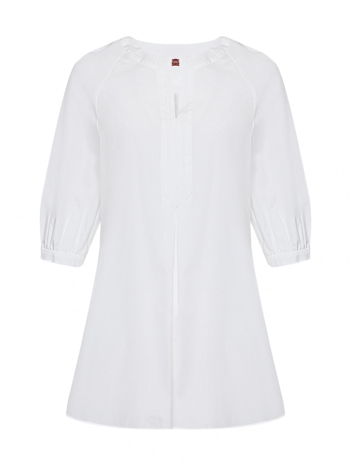 Блуза из хлопка свободного кроя Max Mara  –  Общий вид
