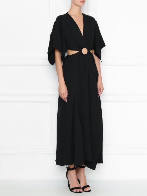 Платье-макси с открытой спиной 3.1 Phillip Lim - МодельВерхНиз