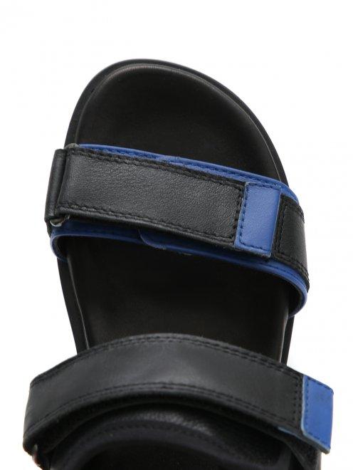 Сандалии кожаные на эргономичной подошве Gallucci - Обтравка3