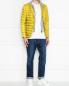 Стеганая куртка с капюшоном и накладными карманами Herno  –  МодельОбщийВид