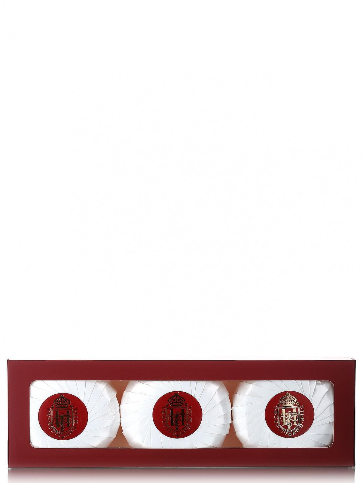 Ароматизированное мыло для бритья - Face care, 3x150g. Truefitt & Hill  –  Модель Общий вид