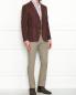 Пиджак из хлопка с карманами LARDINI  –  МодельОбщийВид