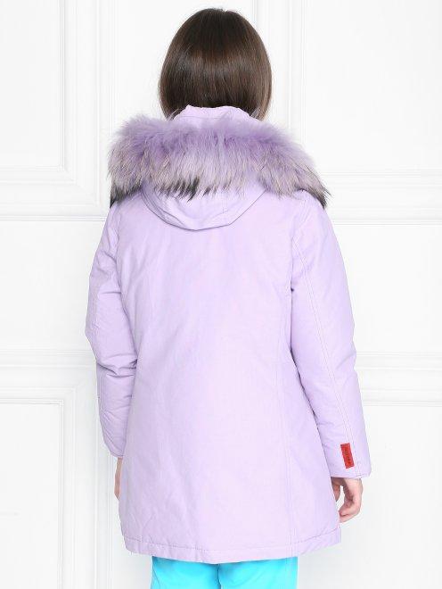 Куртка на молнии с капюшоном  - МодельВерхНиз1