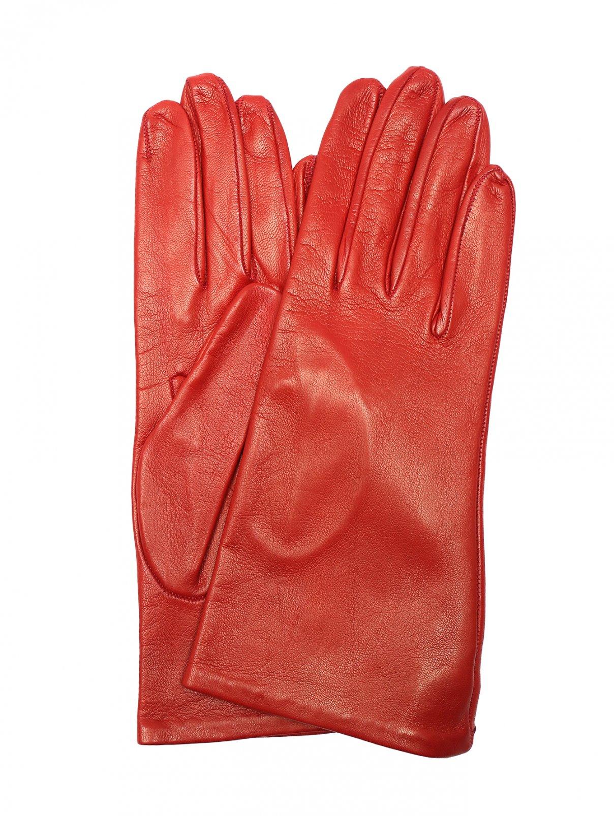 Перчатки из гладкой кожи Portolano  –  Общий вид
