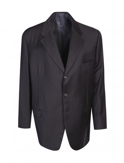 Пиджак однобортный из шерсти - Общий вид